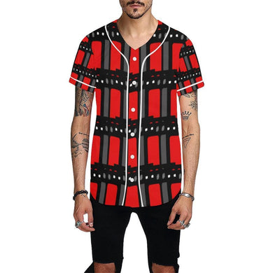Edgy Men's Baseball Jersey