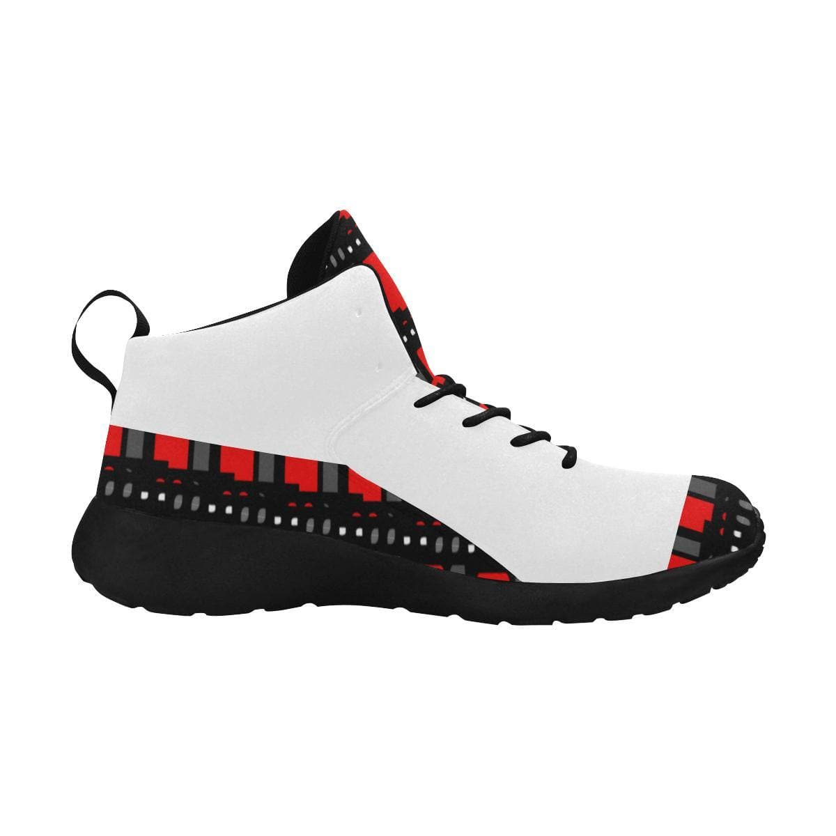Edgy Men's Basketball Shoes - Tie-Fly