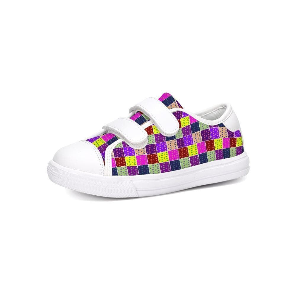 Abstract Kids Kids Velcro Sneaker - TFC&H Co.