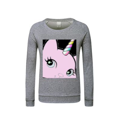 Bec & Friend's Uni-Cat  Kids Graphic Sweatshirt