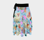 Load image into Gallery viewer, Midnight Floral Wrap Skirt - Tie-Fly