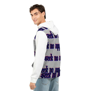 Seek No Approval 2 Men's Hoodie, cloth -tie - fly