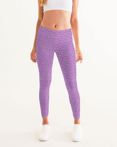 Petty Repeat - Purple Women's Yoga Pant - Tie-Fly