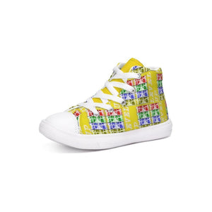 Teacher's Pet: Level Up Kids Kids Hightop Canvas Shoe - Tie-Fly