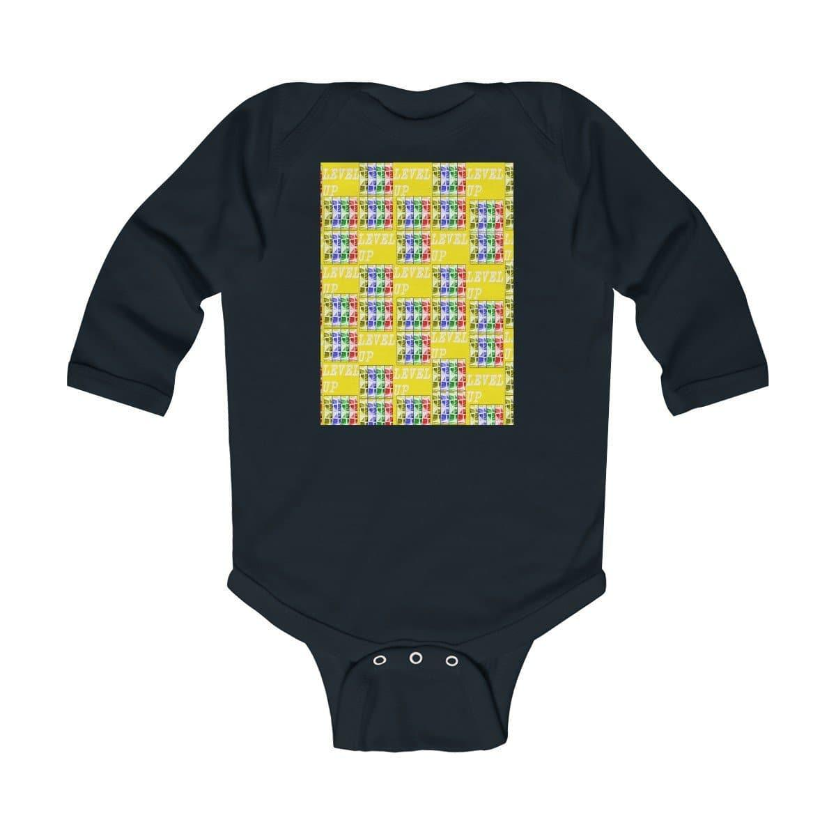 Teacher's Pet: Level Up Babes Infant Long Sleeve Bodysuit - TFC&H Co.