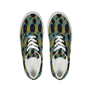 Abstract 2 Lace Up Canvas Shoe - Tie-Fly