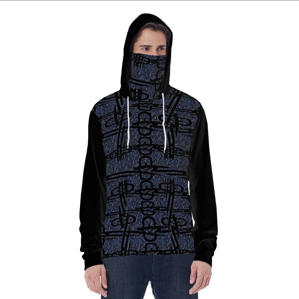 TSWG (Tough Smooth Well Groomed) Aros Men's Hoodie w/ Built in Mask - Tie-Fly