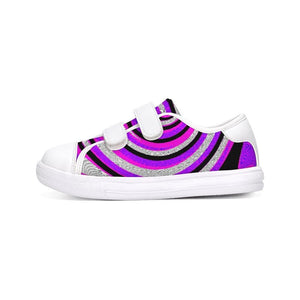 Teacher's Pet Royal Swirl  Kids Velcro Sneaker