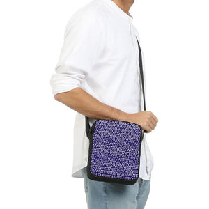 TSWG Repeat - Blue Messenger Pouch - Tie-Fly