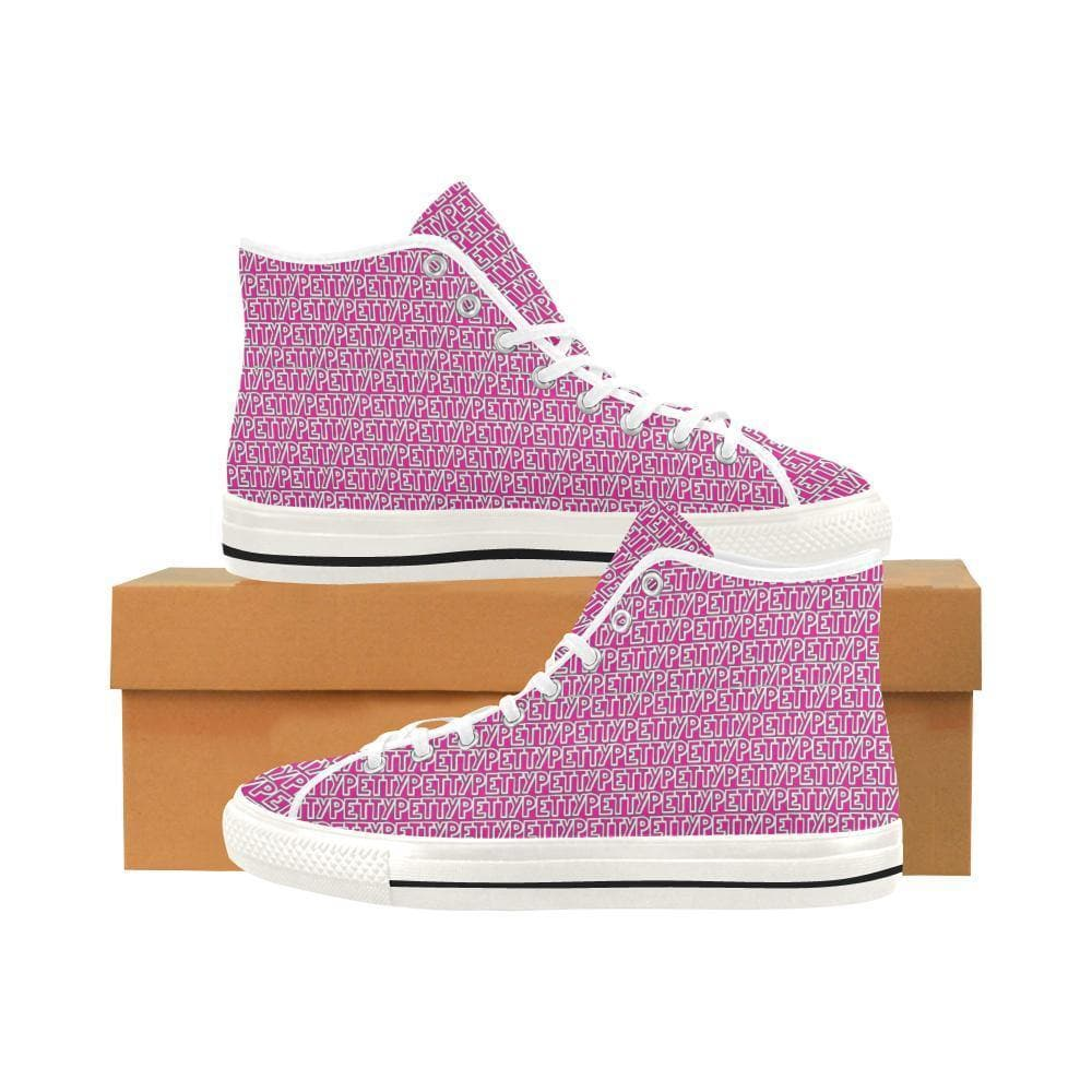 Petty Repeat Vancouver High Top Shoes - Tie-Fly
