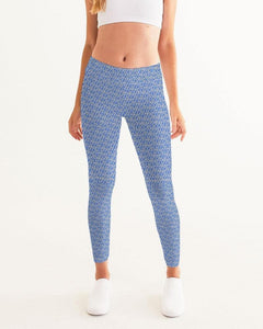 Petty Repeat - Blue Women's Yoga Pant - Tie-Fly