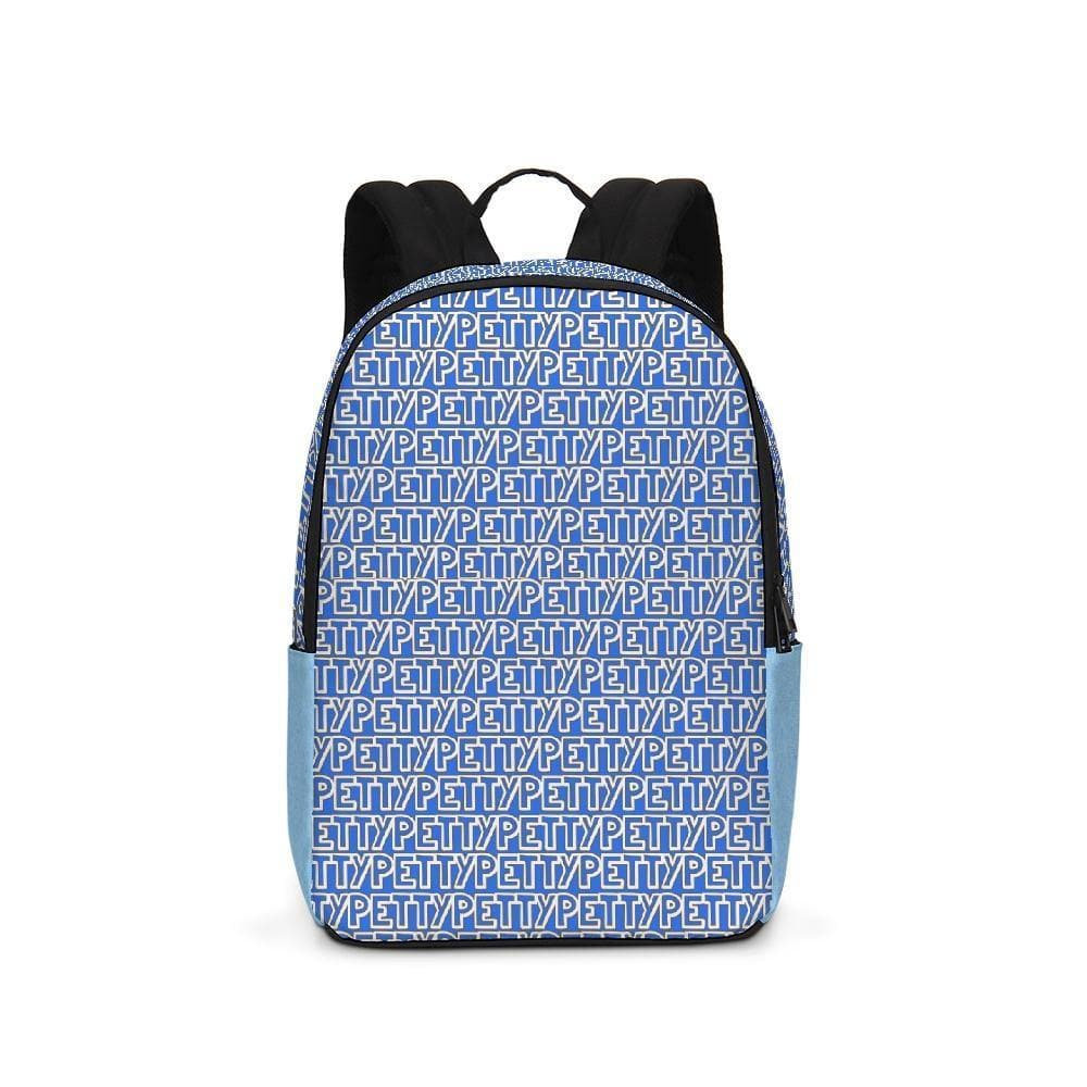 Petty Repeat - Blue Large Backpack - Tie-Fly