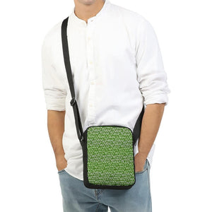 TSWG (Tough Smooth Well Groomed) Repeat - Green Messenger Pouch - Tie-Fly