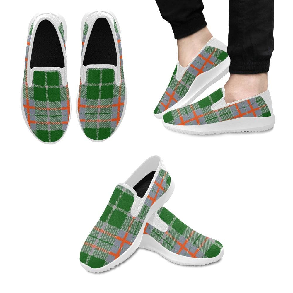 Tribute to Plaid Men's Orion Slip-on - Tie-Fly