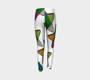 Bec's Star Youth Leggings - Tie-Fly