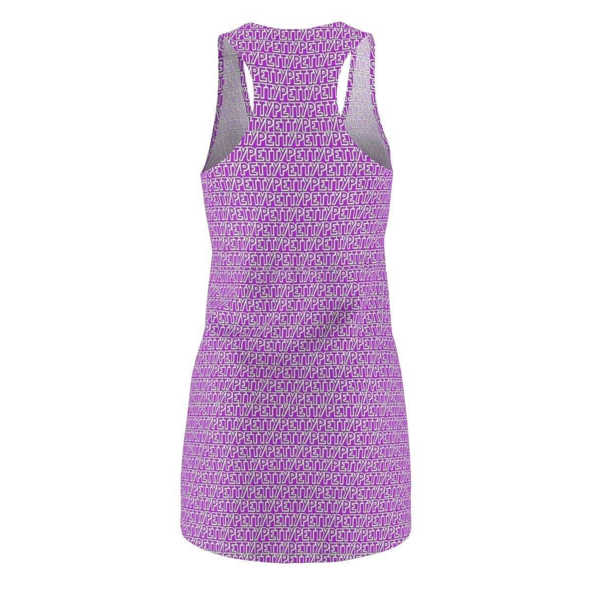 Petty Repeat Women's Racerback Dress - Purple