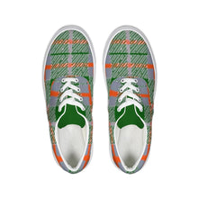 Load image into Gallery viewer, Tribute to Plaid Lace Up Canvas Shoe, shoes -tie - fly