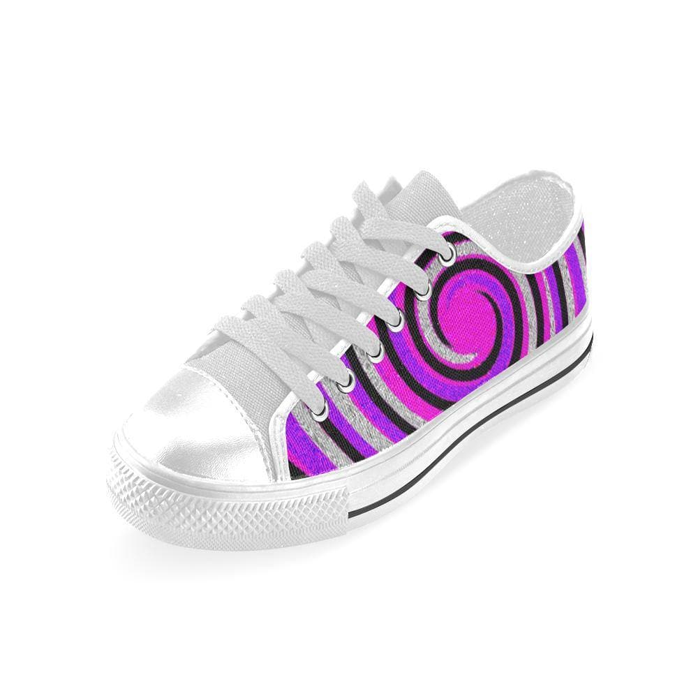 Teacher's Pet Royal Swirl Aquila Canvas Shoe