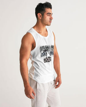 Roll Up Po' Up Pop News Edition Men's Sport Tank - Tie-Fly