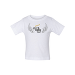 Load image into Gallery viewer, Mommyś Precious Angel Baby Short Sleeve Tee - Tie-Fly