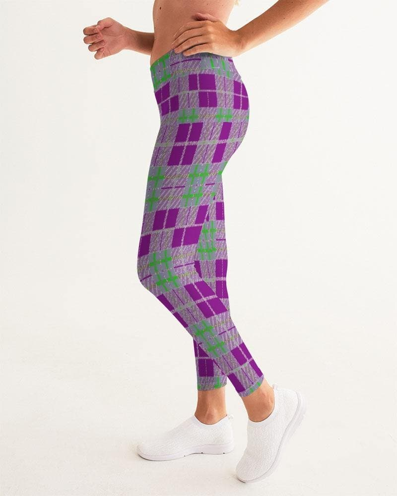 Tribute to Plaid Women's Yoga Pant - TFC&H Co.