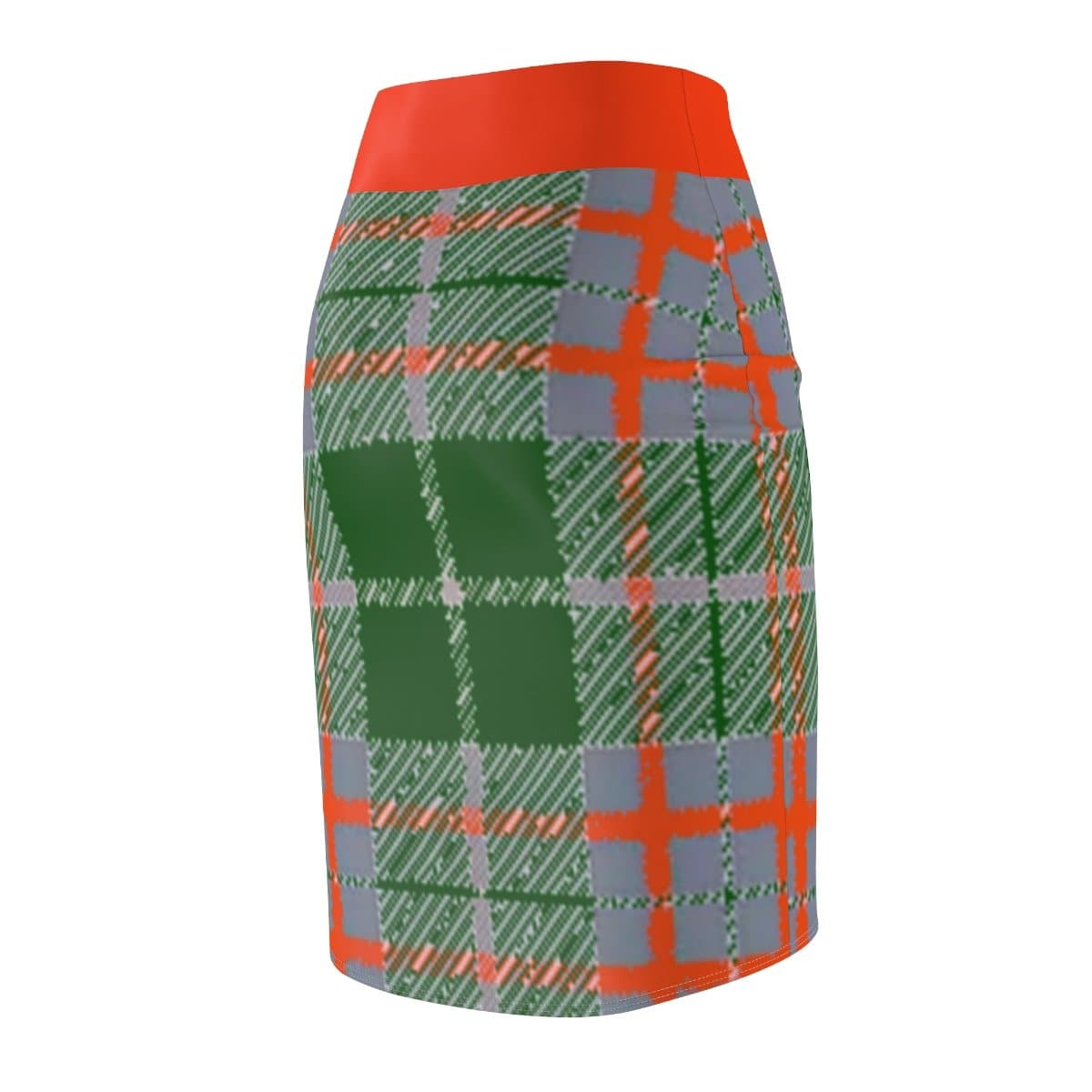 Tribute to Plaid Women's Pencil Skirt - TFC&H Co.