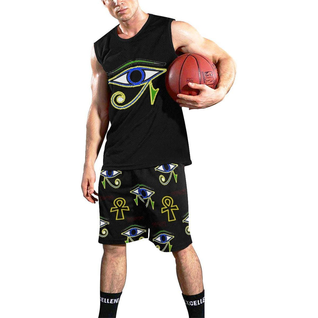 Power Clothing Men's Basketball Set - Tie-Fly