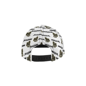 Stallion Clothing All Over Print Snapback - Tie-Fly