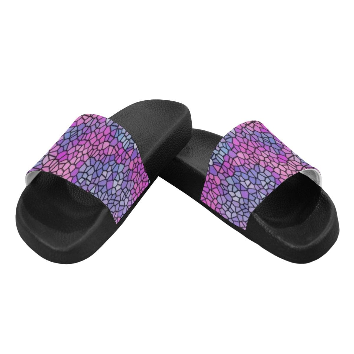Royal Pallette Women's Slide Sandals - Tie-Fly