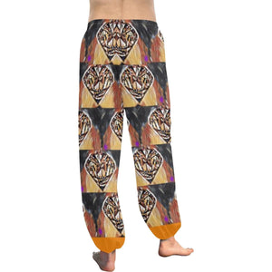 Diamonds in The Sun Women's All Over Print Harem Pants - Tie-Fly