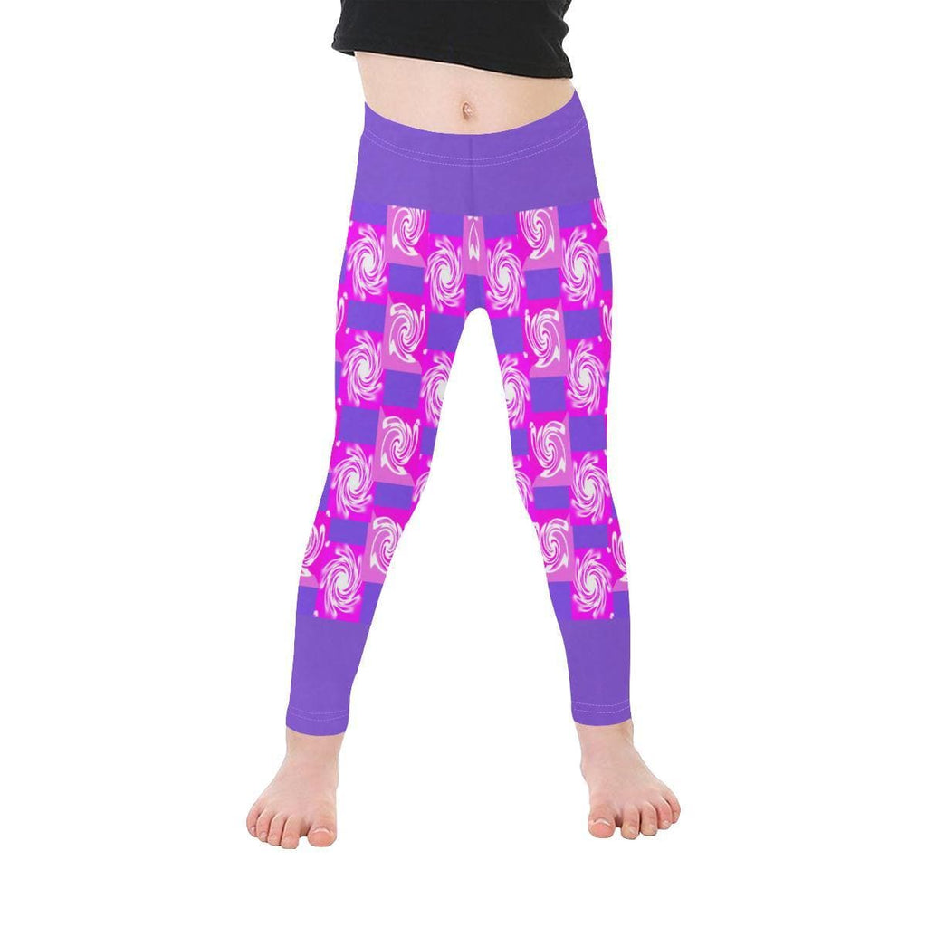 Pink Whirlwind Kid's 2T - 6X Leggings - Tie-Fly