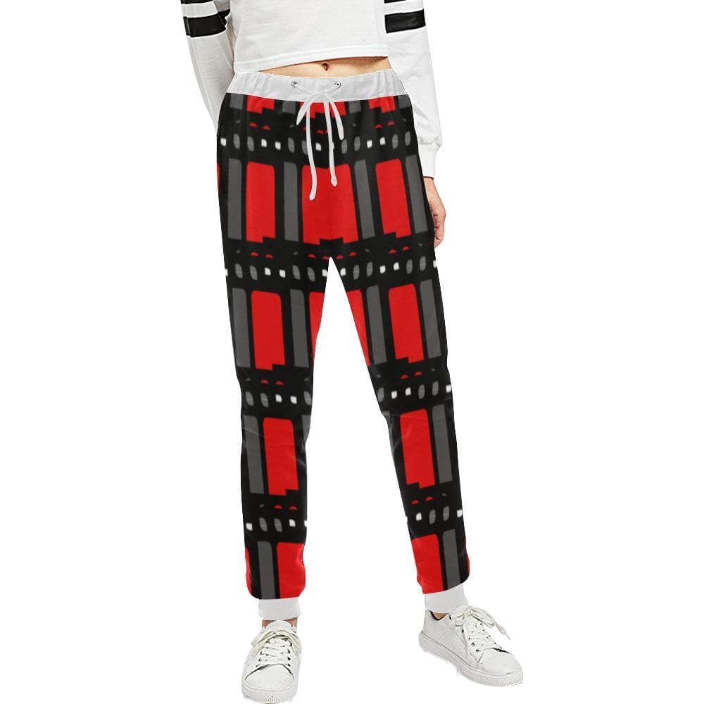 Edgy Unisex Casual Sweatpants - Tie-Fly