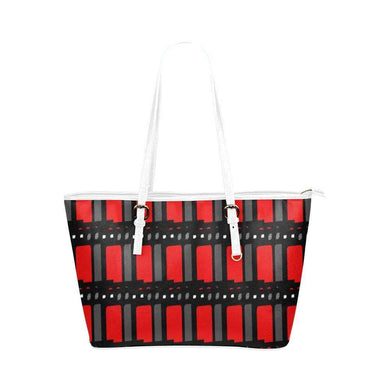 Edgy Leather Tote Bag