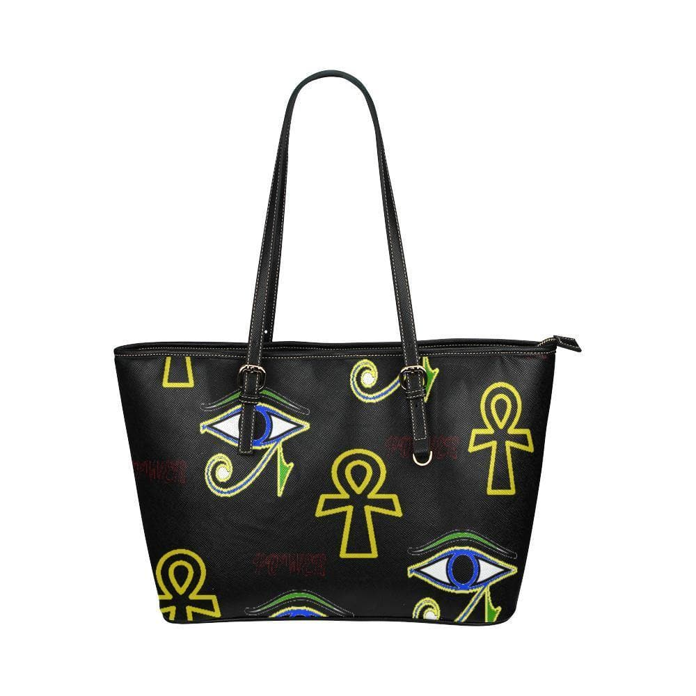 Power Clothing Leather Tote - Tie-Fly