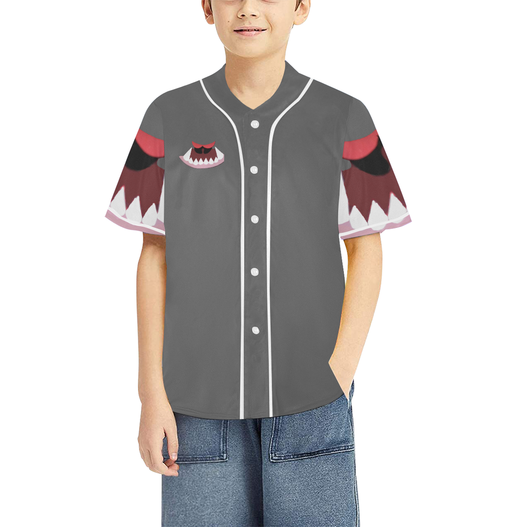 Monster Kids Kids' Baseball Jersey - Tie-Fly