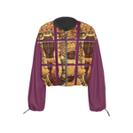 Load image into Gallery viewer, Black Madonna Cropped Chiffon Jacket - 5 variations