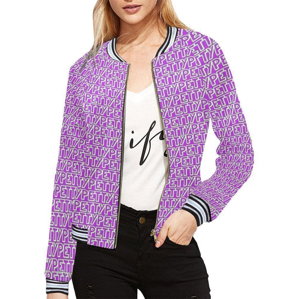Petty Repeat Horizontal Jacket - Tie-Fly