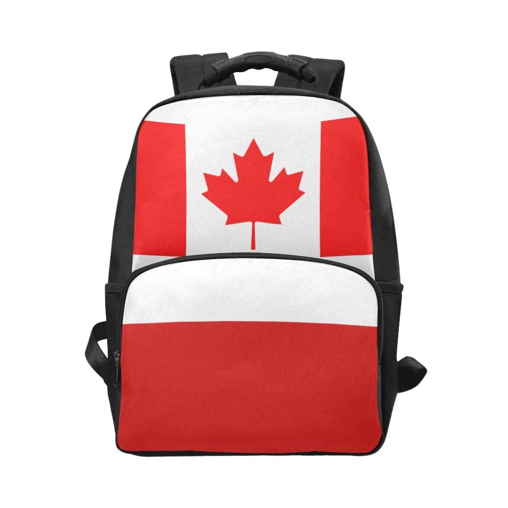 US, ZA, CA Flag Laptop Backpack - Tie-Fly