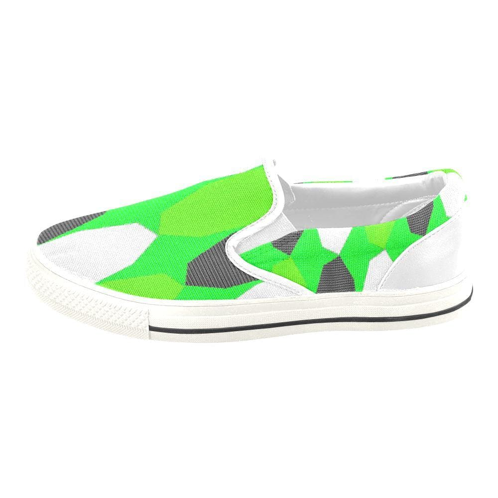 Teacher's Pet Kid's Royal Geo 3 Slip-on Canvas Shoe - TFC&H Co.