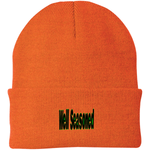 Well Seasoned Port Authority Knit Cap, Hats -tie - fly