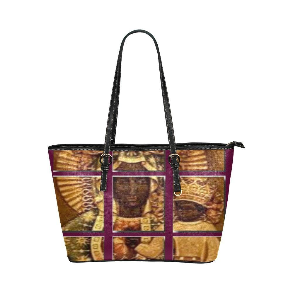 Black Madonna Leather Tote - 3 variations - Tie-Fly