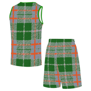 Tribute to Plaid Basketball Tracksuit, All-over Shirts -tie - fly