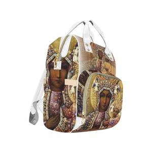 Black Madonna Multi-Function Backpack - Tie-Fly