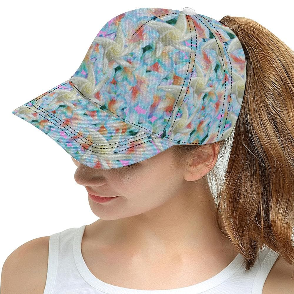Midnight Floral Bucket Hat or Snapback - Tie-Fly