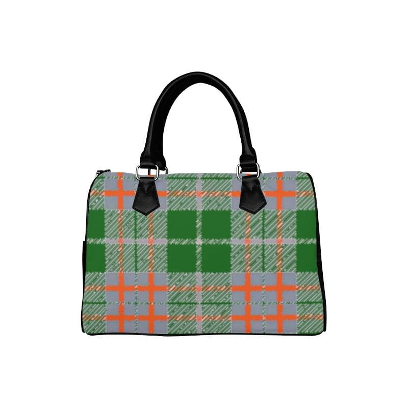 Tribute to Plaid Barrel Handbag - Tie-Fly