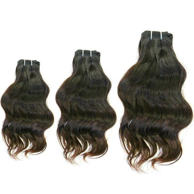 Wavy Indian Hair Bundle Deal, [product_type] -tie - fly