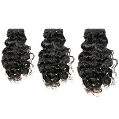 Curly Indian Hair Bundle Deal 100% Human Hair - Tie-Fly