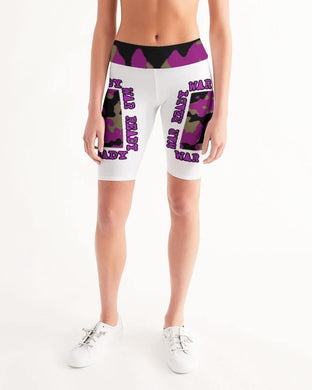 War Ready Women's Mid-Rise Bike Shorts