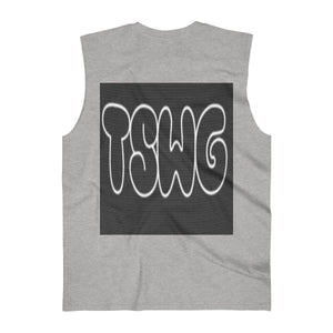 TSWG (Tough Smooth Well Groomed) Men's Ultra Cotton Sleeveless Tank Voluptuous (+) Size Available, Tank Top -tie - fly
