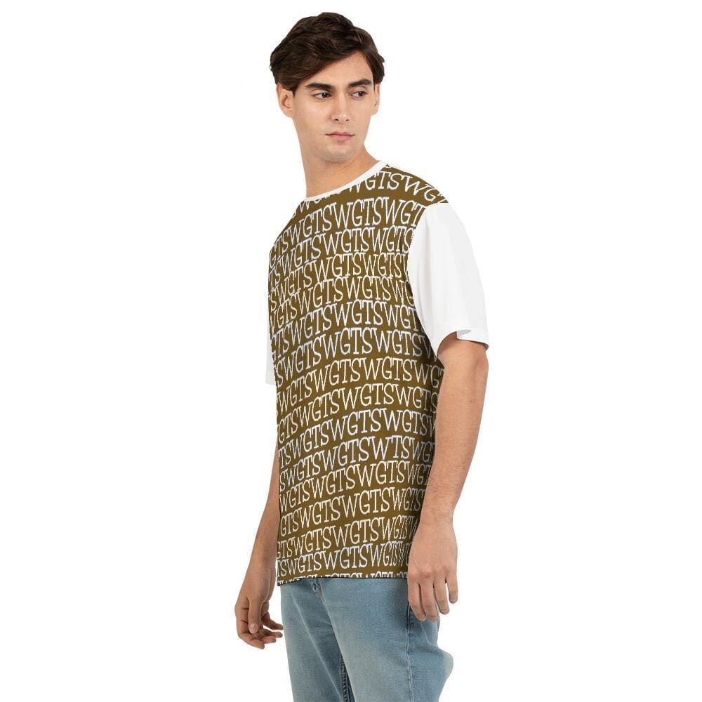 TSWG  (Tough Smooth Well Groomed) Repeat - Brown Men's Tee